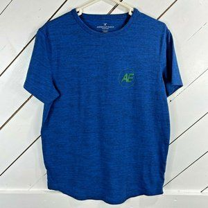 American Eagle Outfitters Mens Blue Short Sleeve M